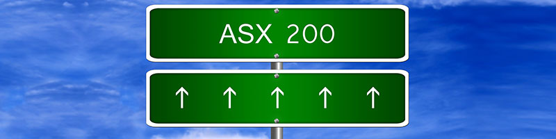 ASX 200 index trading at AvaTrade